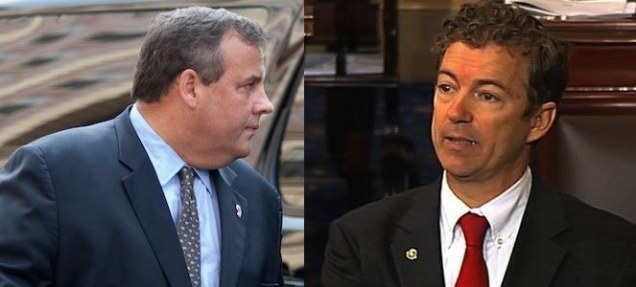 Governor Chris Christie and Senator Rand Paul. Presidential material?
